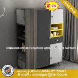 중국 침실 가구 현대 싼 높은 광택 금속 옷장 (HX-8ND9192)