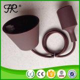 Colorido comedor de la lámpara colgante con E27 Portalámparas