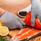 Luva de trabalho protetora da preensão de casa para a cozinha