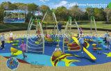 Apparatuur van de Speelplaats van het Park van het Stuk speelgoed van de Spelen van kinderen de Grappige
