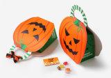 Коробка подарка плодоовощ рождества рождества пятна коробки конфетной бумаги тыквы шаржа Halloween складывая