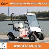 Automobile per il terreno da golf, carrello di golf elettrico da vendere, mini carrello di golf di 2 Seater di golf delle 2 sedi da vendere