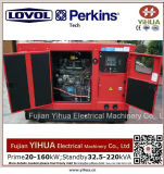 50kw/62.5kVA diesel Stille Generator met Ce goedkeuring-20170831A van de Motor lovol-Perkins