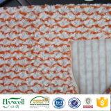 ソファーのおもちゃ毛布のためのPVのプラシ天ファブリックを編む100%年のポリエステル