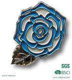 Portsdown Bogenschießen-Verein-Blumen-Form-ReversPin (XD-B33)