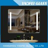 5mm sem caixilho moderna casa de banho com espelho Fogless LED