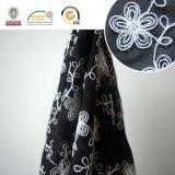 熱い販売の綿の刺繍の軽くて柔らかい花ファブリックスカートファブリックC20002