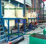 De kleinschalige Technologie van de VacuümDistillatie van de Machine van de Raffinaderij van de Olie van het Afval