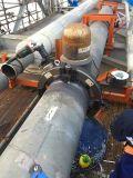 pipe portative de beveler de pipe en acier taillant cannelant la machine