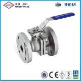 Válvula de bola con brida ANSI con placa de fijación directa