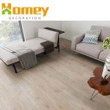 Moins cher de verrouillage intérieure de bois comme revêtement de sol en vinyle PVC en plastique