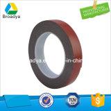 0.64mm/Doubleは赤いフィルムの味方した灰色か灰色のアクリルの泡の粘着テープ(BY5064G)