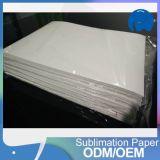 A3 A4 papel de sublimación de tinta de secado rápido para el poliéster de prendas de vestir