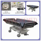 Bd111e Hôpital douche chariot hydraulique