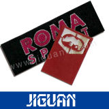 De alta calidad impermeable elegante etiqueta tejida