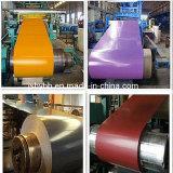 Folha de aço galvanizado Prepainted/bobina de aço com revestimento de cor/BOBINA PPGI