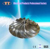 アルミニウム製粉の冷却ファンの葉の精密CNCの機械化の部品