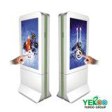 Chiosco esterno di pubblicità di schermo di tocco della visualizzazione dell'affissione a cristalli liquidi di prezzi di fabbrica