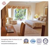 Quarto de hotel com mobiliário contemporâneo cabeceira de tecido (YB-H-5)