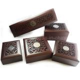 Accpetable Jelwelry personnalisées Coffrets cadeaux en bois