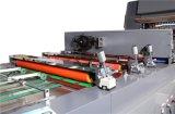 비행 칼 절단 (XJFMKC-120L)를 가진 두 배 옆 창문 Pre-Coating 필름 박판으로 만드는 기계
