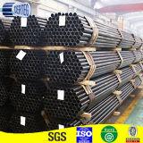 接続のための炭素鋼の黒の管のあたりで溶接するSTKM-11A ERW