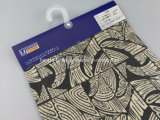 Teñido de hilados de algodón Tencel impresión mezclada Slub Fabric-Lz8248