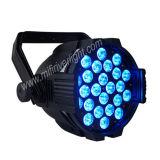 Indicatore luminoso chiaro della fase del DJ 24PCS LED Parcan 10W LED 4in1 di migliori prezzi
