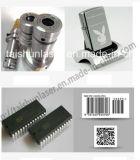 Máquina dominante caliente de la marca del laser de la fibra de la etiqueta de plástico 20W del laser de la venta