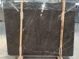 Losas de mármol marrón Mousse de azulejos y suelos de mármol&Albañilería