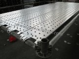 Tablón lleno de acero del andamio para el sistema del andamio