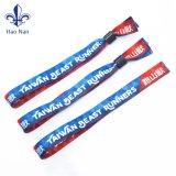 Festival de la conception de haute qualité tissée bracelet avec Custom