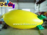 aerostato gonfiabile del dirigibile del piccolo dirigibile dell'elio del PVC di stampa completa con l'indicatore luminoso del LED