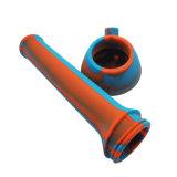 Conduites d'eau colorées en gros de silicones pour fumer la pipe en verre incassable
