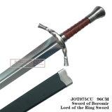 Espada de Boromirlord da espada 96cm Jot075cu do filme da espada do anel