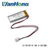 個人的なステレオのための112054pl 1100mAh 3.7V李ポリマー電池
