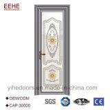 アルミニウム曇らされたガラスの浴室のドアデザイン