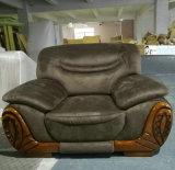 Sofa de cuir de meubles d'entrée d'hôtel de prix de gros d'usine (2109)