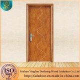 Novo design Semi-sólidos simples porta de madeira para o quarto