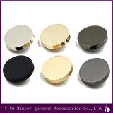 Оптовая торговля одеждой аксессуары раунда Gold металлические кнопки для шитья джинсы