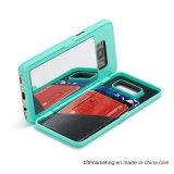 Caisse de téléphone de pochette de miroir pour Samsung S8/S8plus