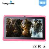 De 7 pulgadas de OEM Blanco Tablette Android Tablet PC con cámara de la luz del flash Potional