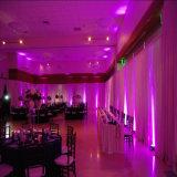 La pipe télescopique de mode de décorations de contexte de mariage et drapent pour la location d'hôtel