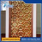 201 304 316 Plaque métallique gaufré Plaque décorative avec divers 525
