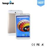 La qualité de Longview marque sur tablette ' téléphone de tablette de faisceau de quarte de pouce 7 avec GPS Bluetooth FM