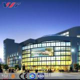 工場直接品質保証のプレハブの鉄骨構造の商業オフィスビル
