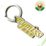 Kundenspezifisches Metall bereift Metalldecklack-Schlüsselkette (xd-09015)