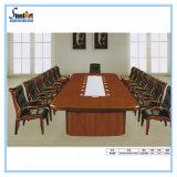 Tabela de conferência longa do escritório da mobília de madeira (FEC C108)