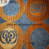 Tessuto blu del sofà del Chenille da 290GSM
