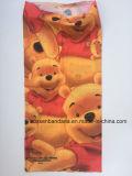 I prodotti della fabbrica della Cina hanno personalizzato la stampa 25*50cm Microfiber Headwear multifunzionale senza giunte dell'orso del fumetto